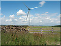 NZ1241 : Wind turbine north-east of West Carr by Trevor Littlewood