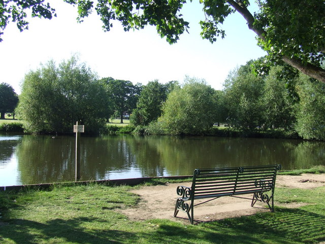 Village pond, Theydon Bois