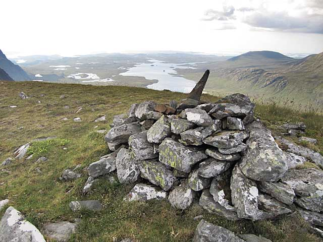 View towards Fionn Loch from Beinn Lair