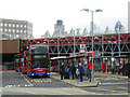 TQ3280 : London Bridge Bus Station by Stephen McKay