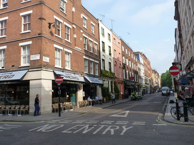 Frith Street London Restaurants