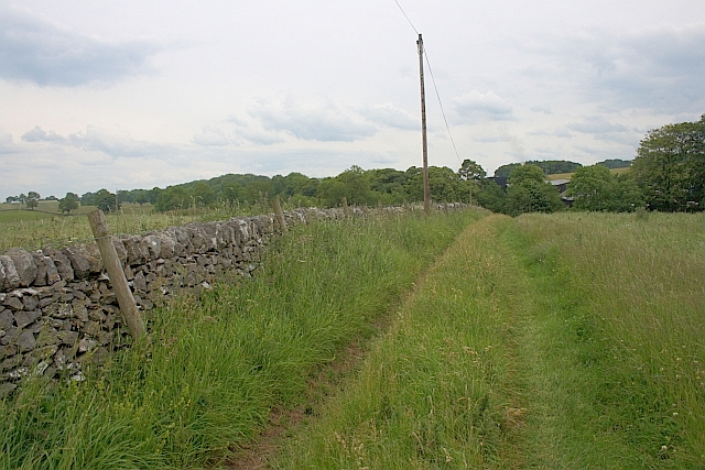 Track along side of Wall