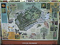 TQ4669 : Scabury Park Nature Reserve Information Board by David Anstiss