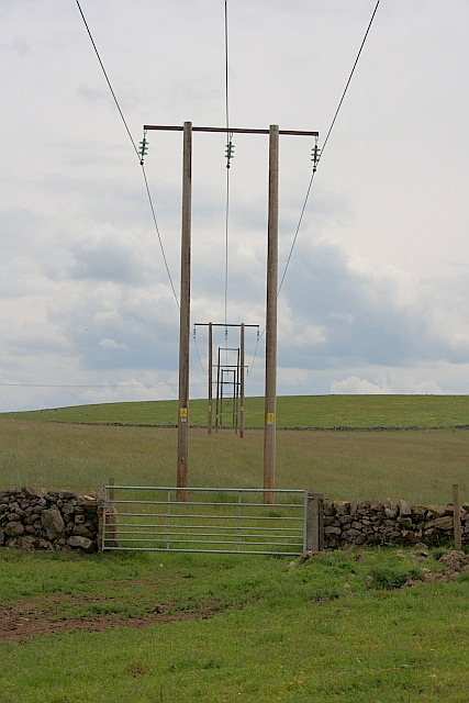 Electricity Transmission Poles, Gratton Moor