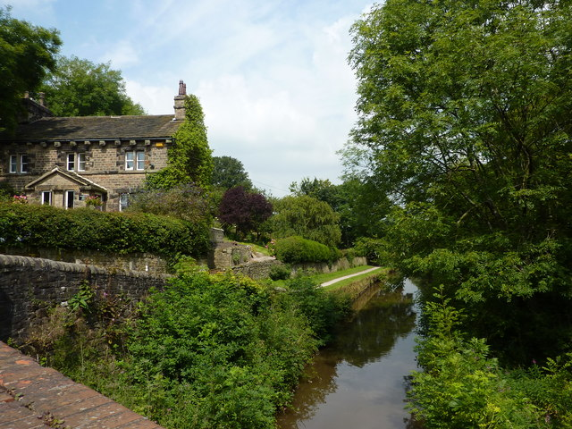 House at Brick Bridge, Peak Forest Canal
