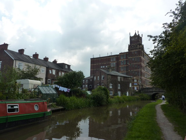 Goyt Mill, Macclesfield Canal