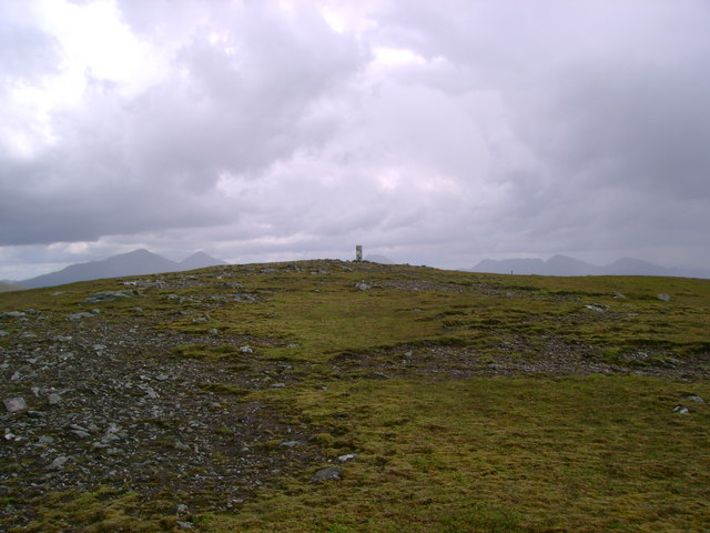 Summit of Beinn Chaorach
