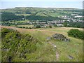 SE0025 : Hebden Royd Footpath 49, Mytholmroyd by Humphrey Bolton