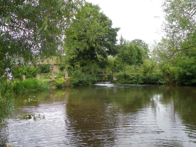 River Wylye at Mill Farm