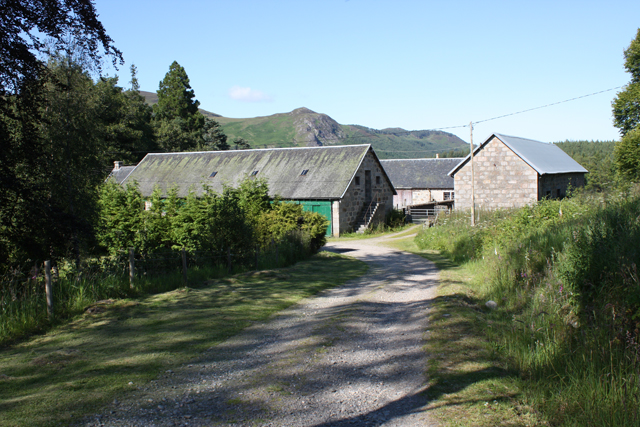 Gallovie Farm steading