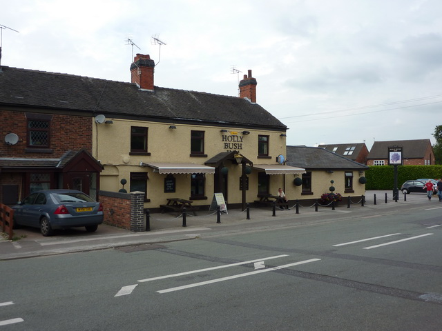Holly Bush Inn, Crewe Road, Winterley