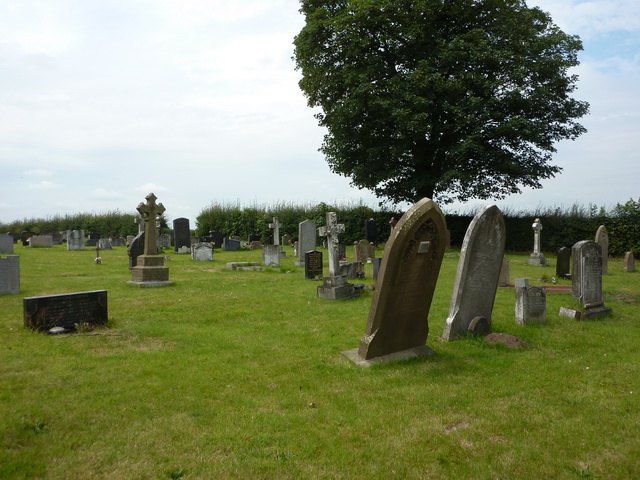 Christ Church, Wheelock, Graveyard