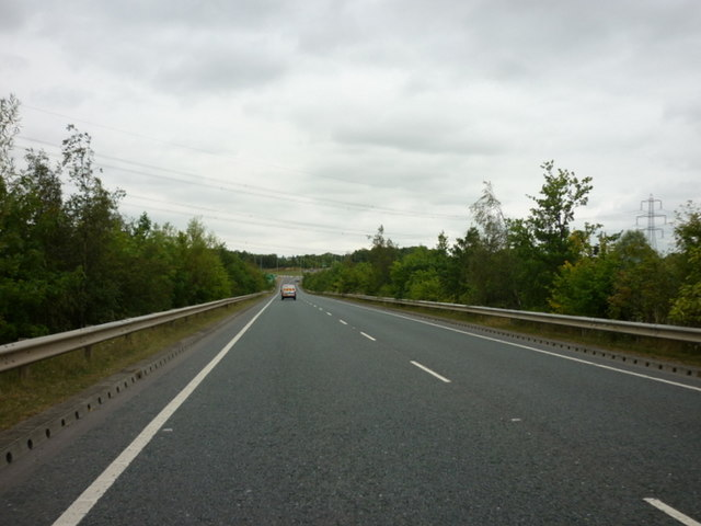 The A628 Hemsworth Bypass