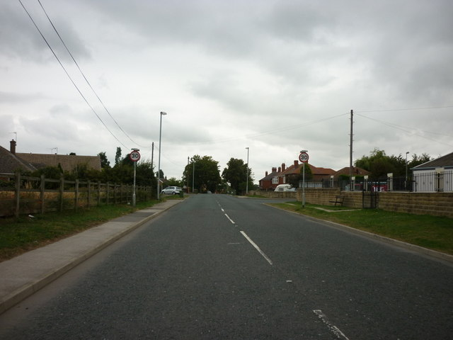 South Moor  Road, Hemsworth