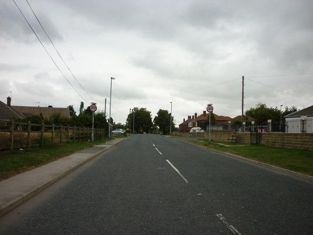 South Moor  Road, Hemsworth