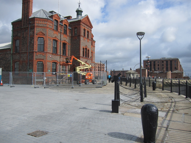 The Pilotage Building and Canning Pierhead
