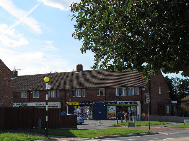 Shops on Calley Down Crescent
