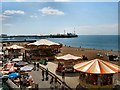 TQ3103 : Carousels - Brighton beach by Paul Gillett