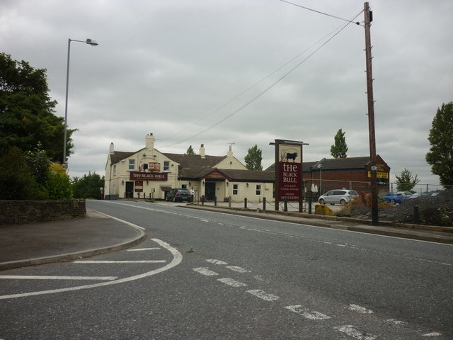 The Black Bull Inn, Midgley