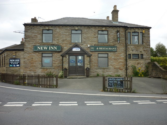 The New Inn on the B6118, Liley Lane