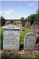 NS6113 : New Cumnock Auld Kirkyard by Walter Baxter