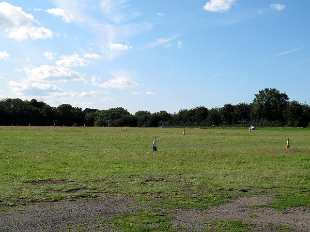 Fields with cones