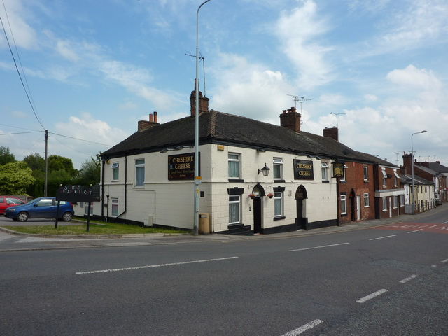 The Cheshire Cheese, Crewe Road, Wheelock