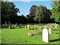 TQ4459 : Cudham, St Peter & St Paul - graveyard by Stephen Craven