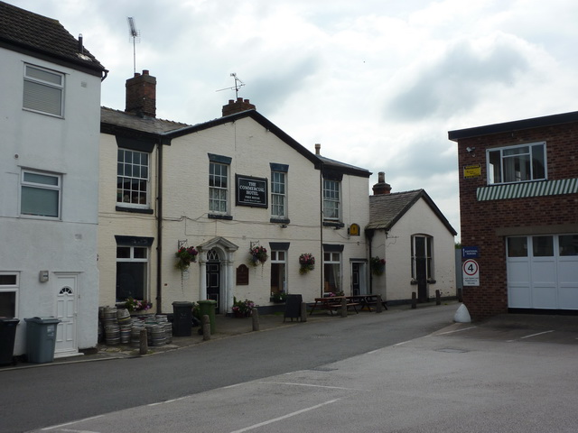 The Commercial Hotel, Game Street, Wheelock