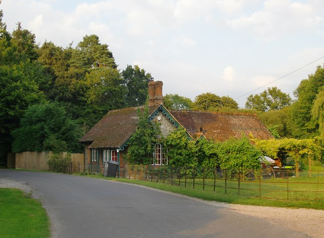 Lodge in Longstock Park