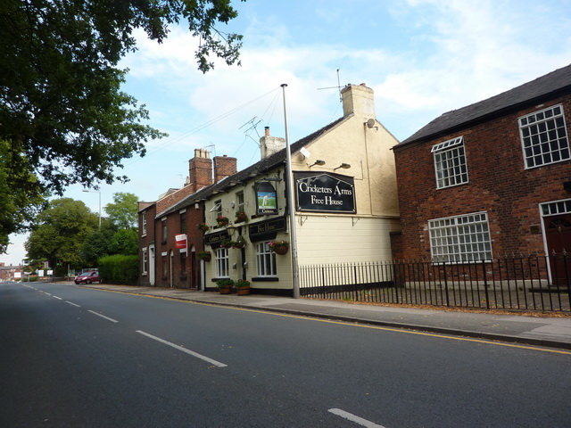 Cricketers Arms, Crewe Road, Sandbach