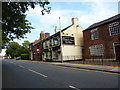 SJ7560 : Cricketers Arms, Crewe Road, Sandbach by Alexander P Kapp