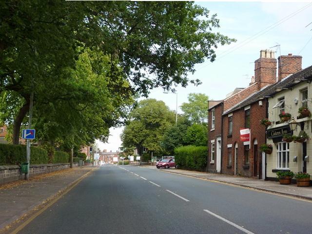 Crewe Road, Sandbach