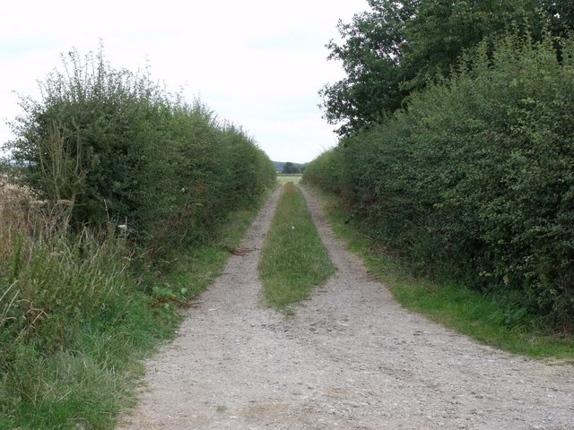 Track near Fleets Cottages