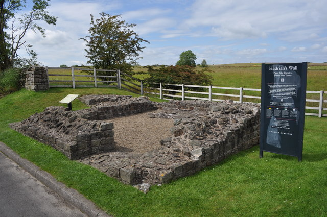 Hadrians Wall - Piper Sike Turret