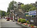 SE0338 : Oakworth Railway Station by David Dixon