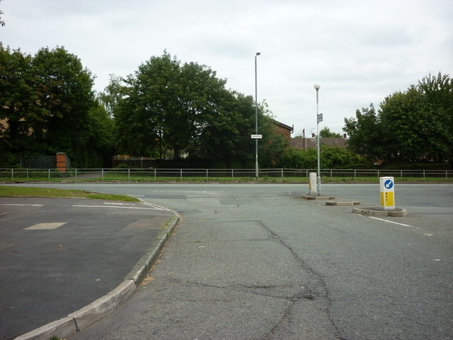 The junction of Portway and Simonsway