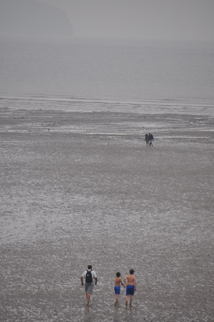 Weston-Super-Mare : The Mudflats