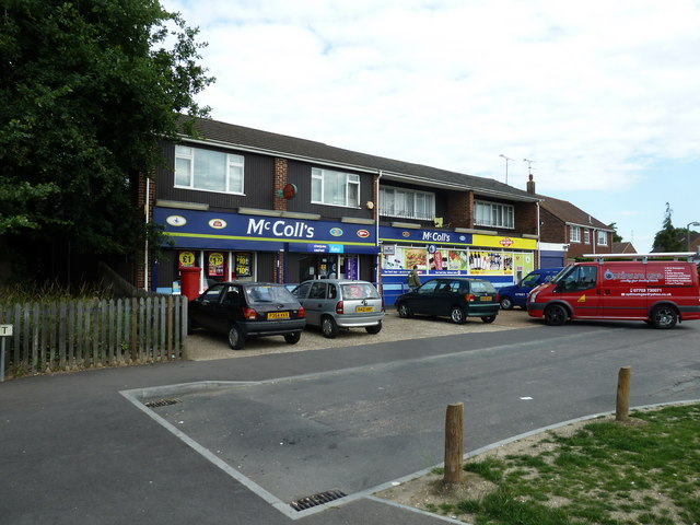 Convenience store just off the Ringwood Road