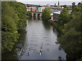 NZ2742 : River Wear, Durham by Paul Harrop