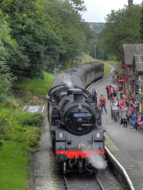 Steam Train at Haworth