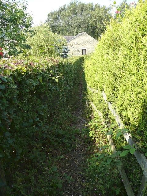 Hebden Royd Footpath 51, Coiners Fold, Mytholmroyd