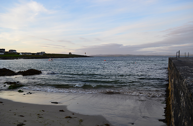 Twilight on the shore of Loch Indaal