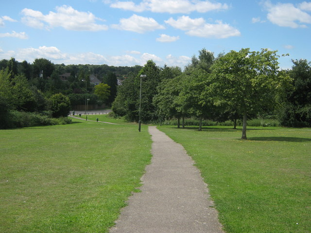 Footpath in Poverest Park