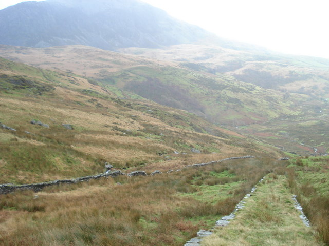 Incline in Cwm Dwyfor