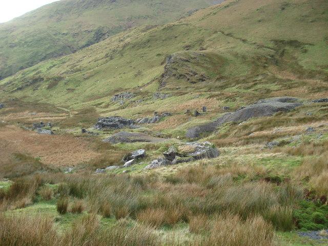 Cwm Dwyfor mine
