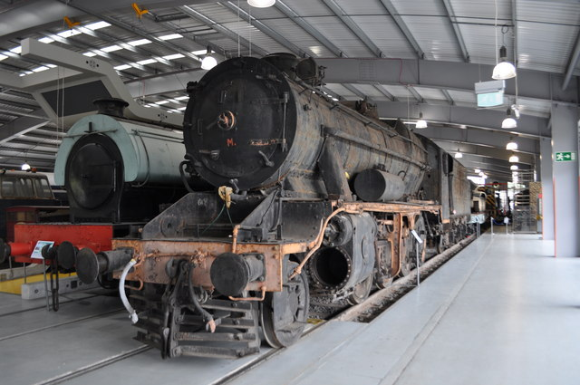 Turkish 8F at Shildon