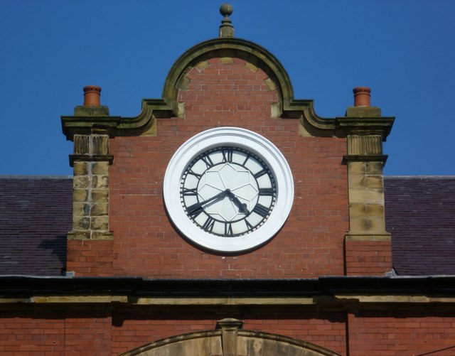 Former Granton Gas Works Station clock