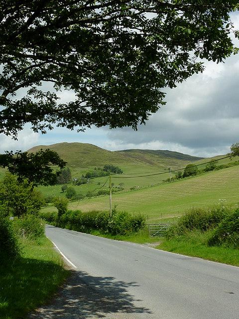 Hill pasture near Ysbyty Cynfyn, Ceredigion