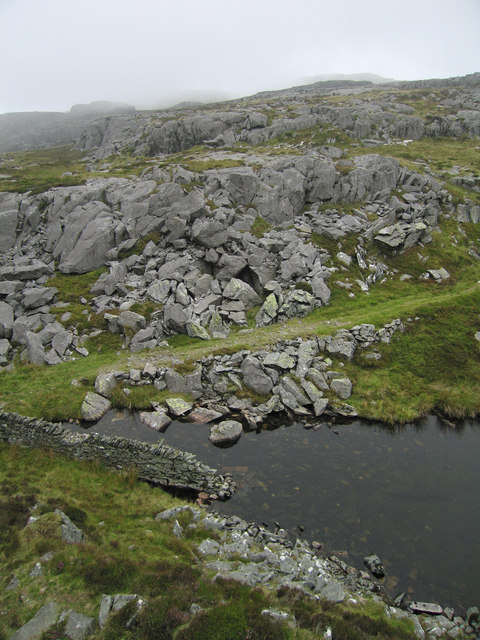 Part of Llyn Du